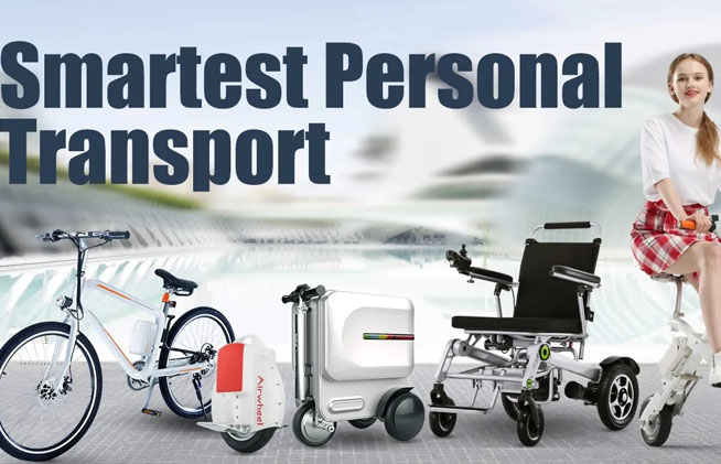 Airwheel Scooter Luggage